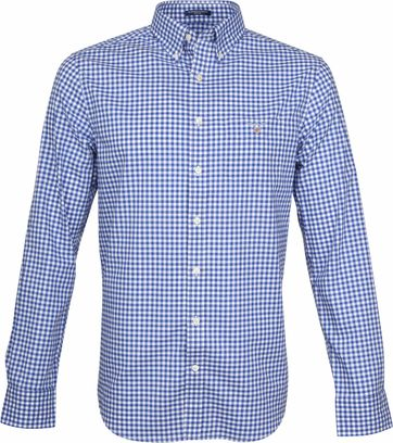 Gant Gingham Shirt Blue Check