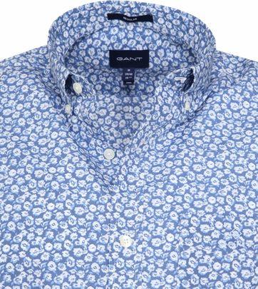 Blaues Hemd mit Blumendruck für Herren von GANT