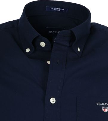 Gant Hemd Boradcloth Navy