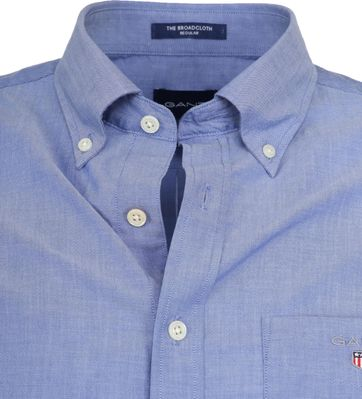 Gant Hemd Broadcloth Blau