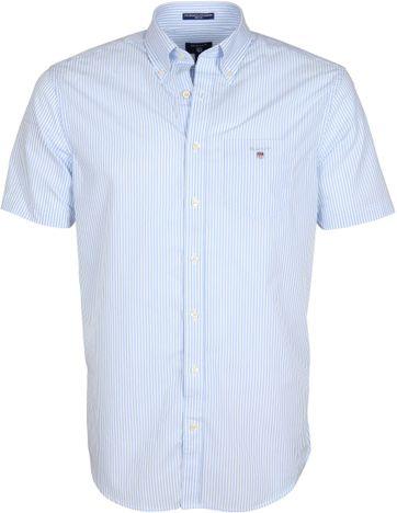 Gant Hemd Streifen Blau