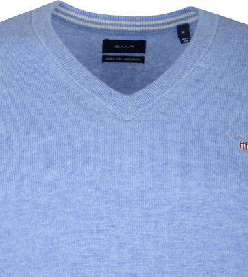 Gant Lambswool Pullover Light Blue
