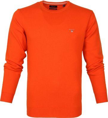 Gant Lamswol Trui Oranje