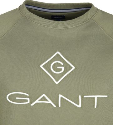 bläck säng Mätbar  Gant Lock Up Sweater Dark Green 2046062-358 order online   Suitable