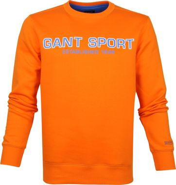 Gant Logo Sweater Orange