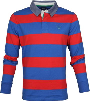 Gant Longsleeve Rugby Polo Barstripe