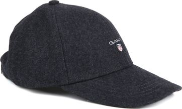 Gant Melton Cap Dark Grey
