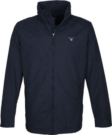 Gant Midlength Jacket Dark Blue