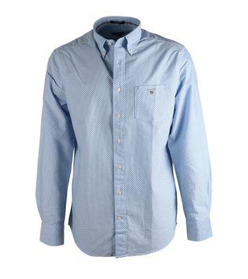 Gant Overhemd Blauw Pinpoint