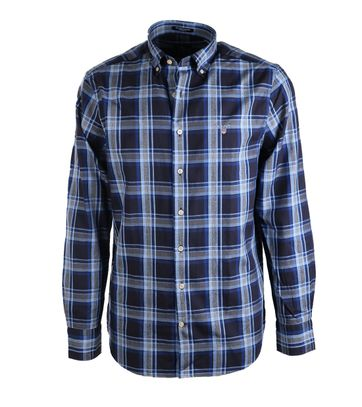 Gant Overhemd Oxford Navy