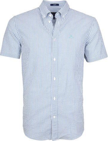 Gant Overhemd SS Seersucker Streep