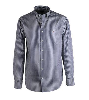 Gant Overhemd Streep Blauw