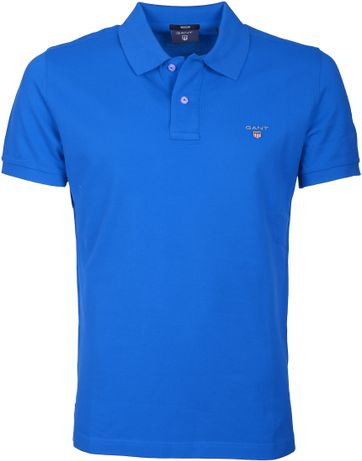 Gant Polo Basic Kobalt Blue