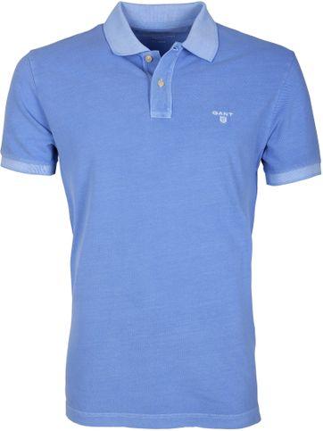 Gant Polo Basic Washed Blau