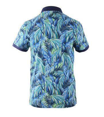 Detail Gant Polo Jungle Blue