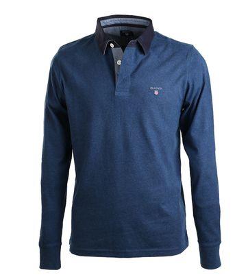 Gant Polo mit langen Ärmel Blau