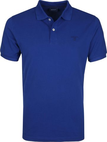 Gant Polo Rugger Blauw