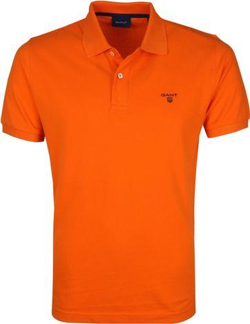 Gant Polo Rugger Oranje