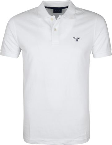 Gant Polo Rugger Wit