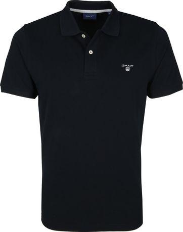 Gant Polo Rugger Zwart