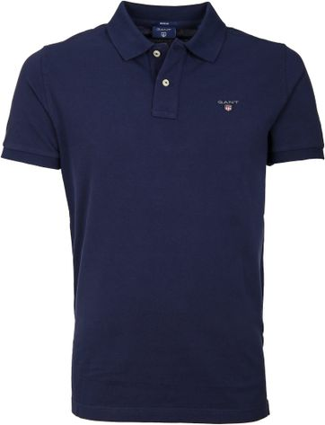 Gant Polo Shirt Basic Navy
