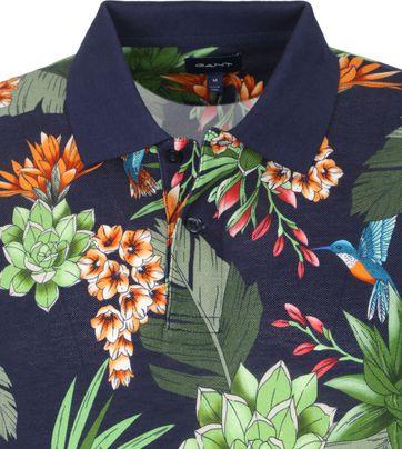 Gant Polo Shirt Rugger Garden Dunkelblau