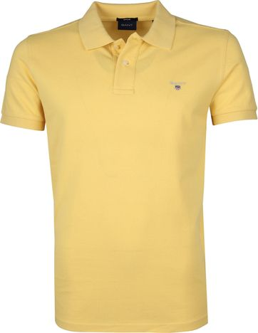 Gant Polo Shirt Rugger Gelb