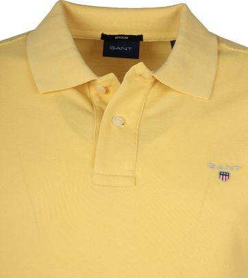 Gant Polo Shirt Rugger Gelb