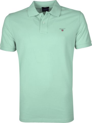 Gant Polo Shirt Rugger Light Green