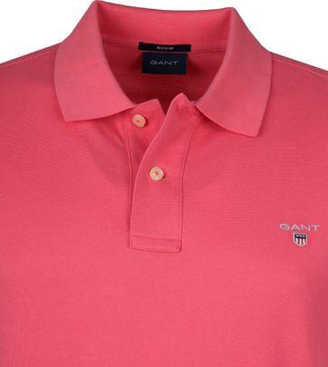 Gant Polo Shirt Rugger Rosa