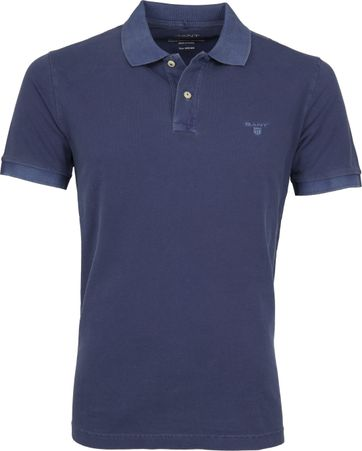 Gant Polo Shirt Sunbleached Navy