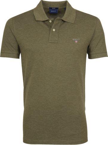 Gant Poloshirt Army Grün