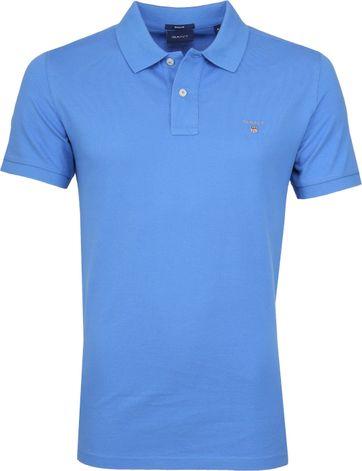 Gant Poloshirt Basic Blauw