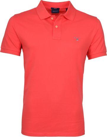Gant Poloshirt Basic Roze