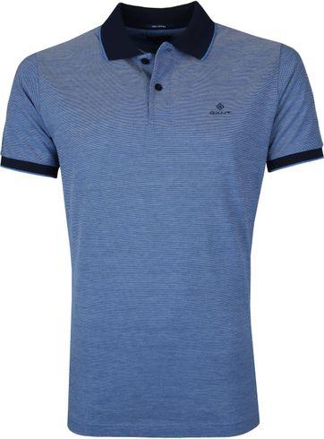 Gant Poloshirt Blau Melange