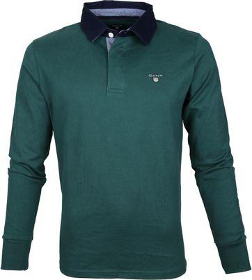 Gant Poloshirt lange Ärmel Grün