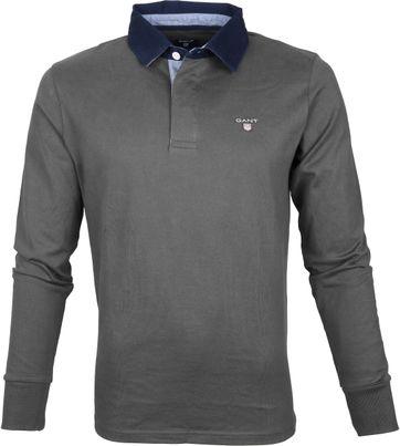 Gant Poloshirt Longsleeve Dark Grey
