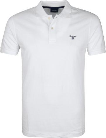 Gant Poloshirt Rugger White