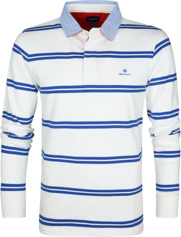 Gant Poloshirt Stripes Blue White