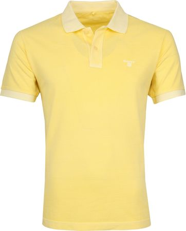 Gant Poloshirt Sunbleached Yellow