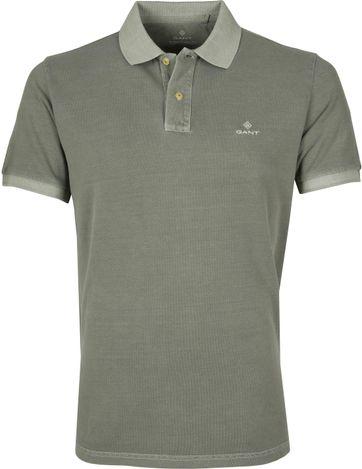 Gant Poloshirt Sunfaded Groen