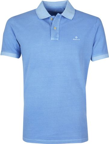 Gant Poloshirt Sunfaded Light Blue