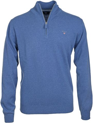 Gant Pullover Blau Lammwolle