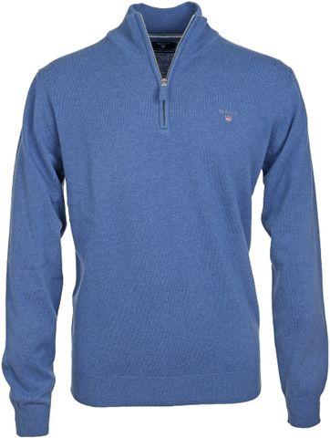 Gant Pullover Blauw Lamswol