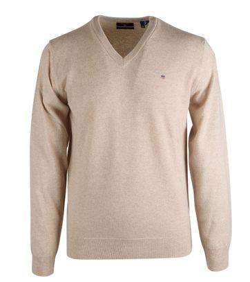 Gant Pullover Lammwolle Beige