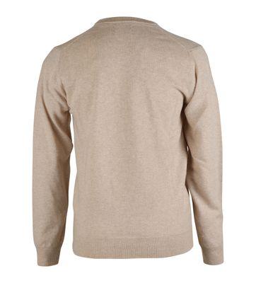 Detail Gant Pullover Lamswol Beige