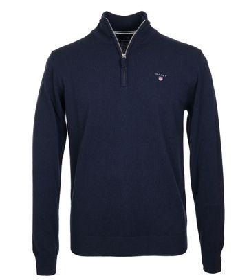 Gant Pullover Navy Lamswol