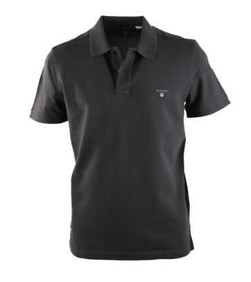 Detail Gant Rugger Polo Antraciet