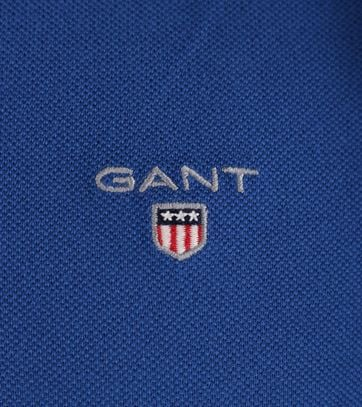 Detail Gant Rugger Polo Yale Blue