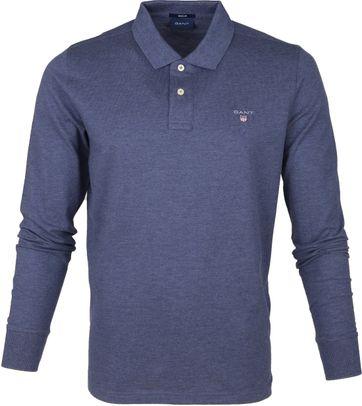 Gant Rugger Poloshirt LS Blue